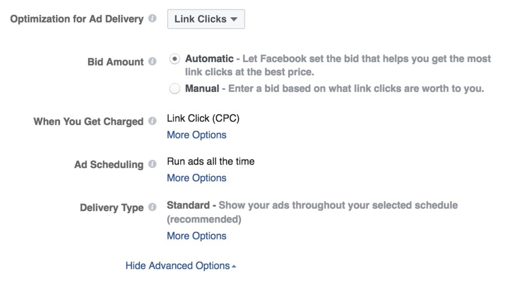 Optimisation For Ad Delivery