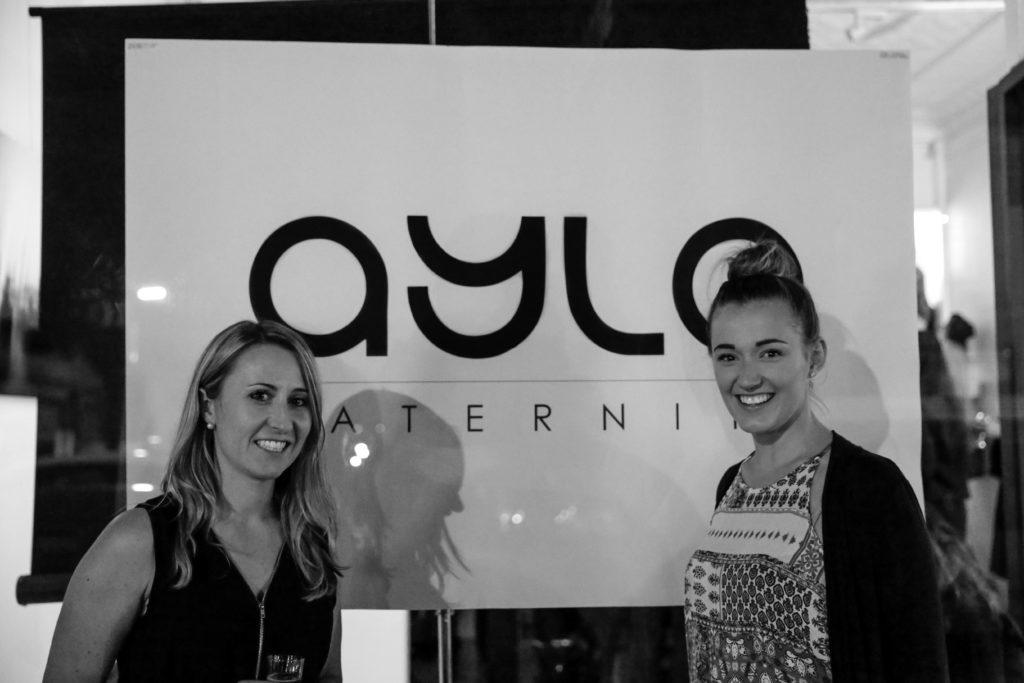 Collette Swindells (left), founder of AYLA Maternity