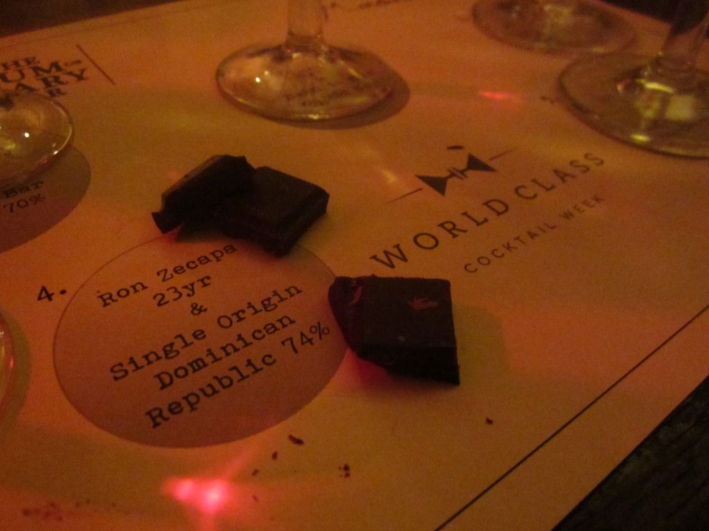 chocolate and cocktails, thanks to World Class Cocktail Week