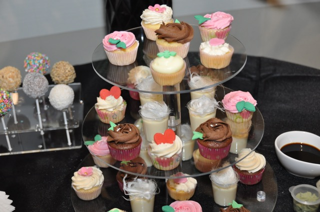cake pops and cupcakes -  - photo courtesy Raw Element