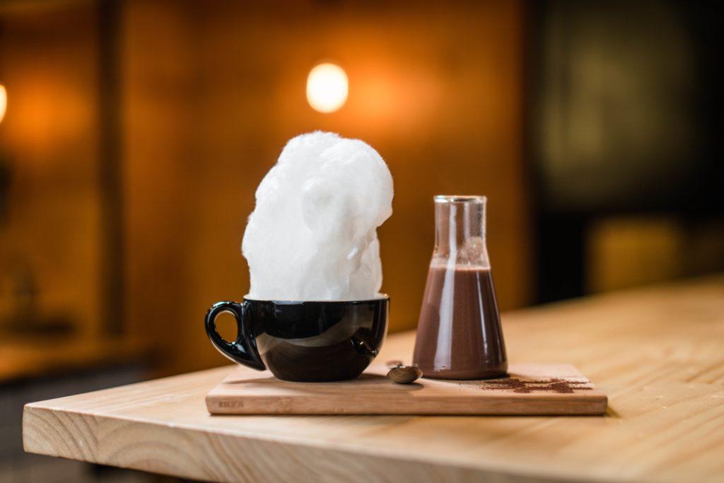 Mork hot chocolate - photo courtesy Eugene Hyland