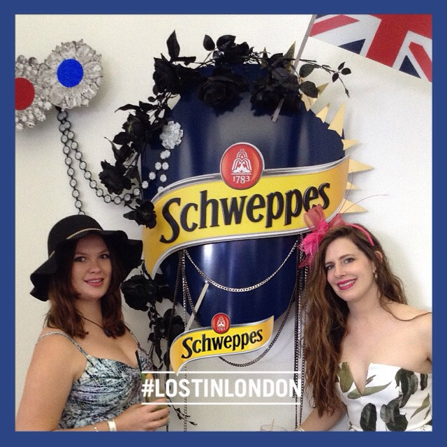 Our day at #thebirdcage keeps getting better and better. The tunes at @schweppesaus are pumping, the cocktails are flowing. -Charli & Theresa #melbourne #melbcupcarnival #Melbournecup @flemingtonvrc @springcarnival @katecopr #theplusonesmelbourne
