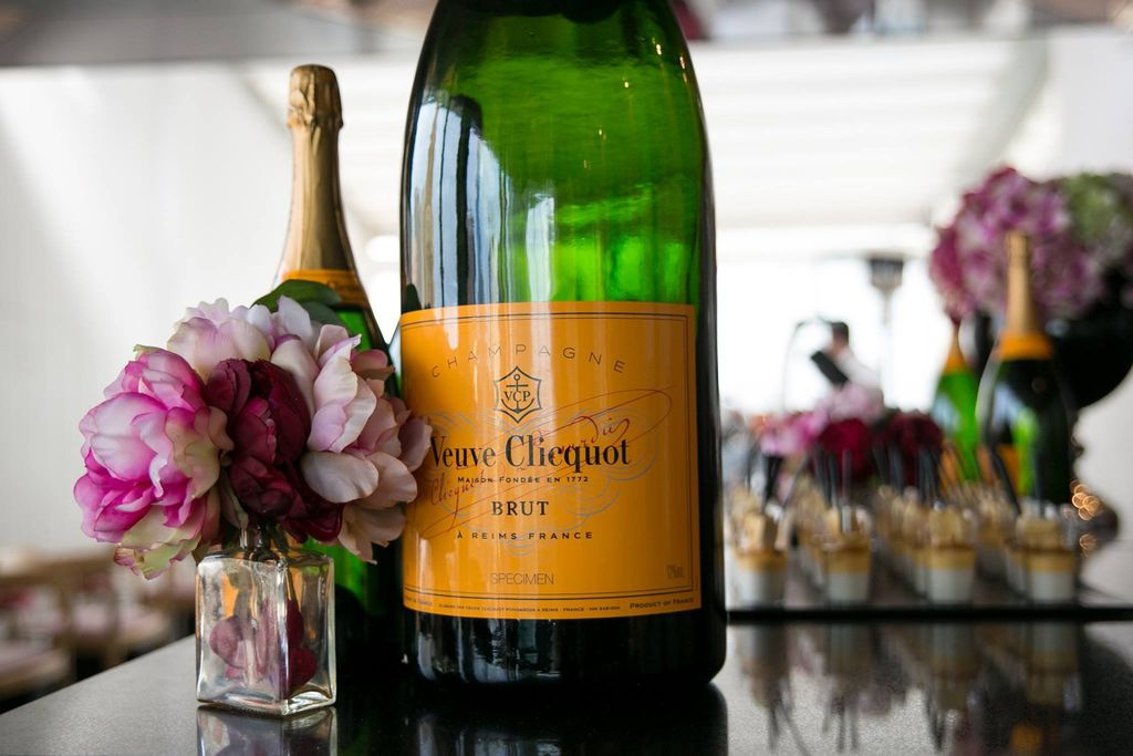 Veuve Clicquot breakfast - photo courtesy Carly Ravenall