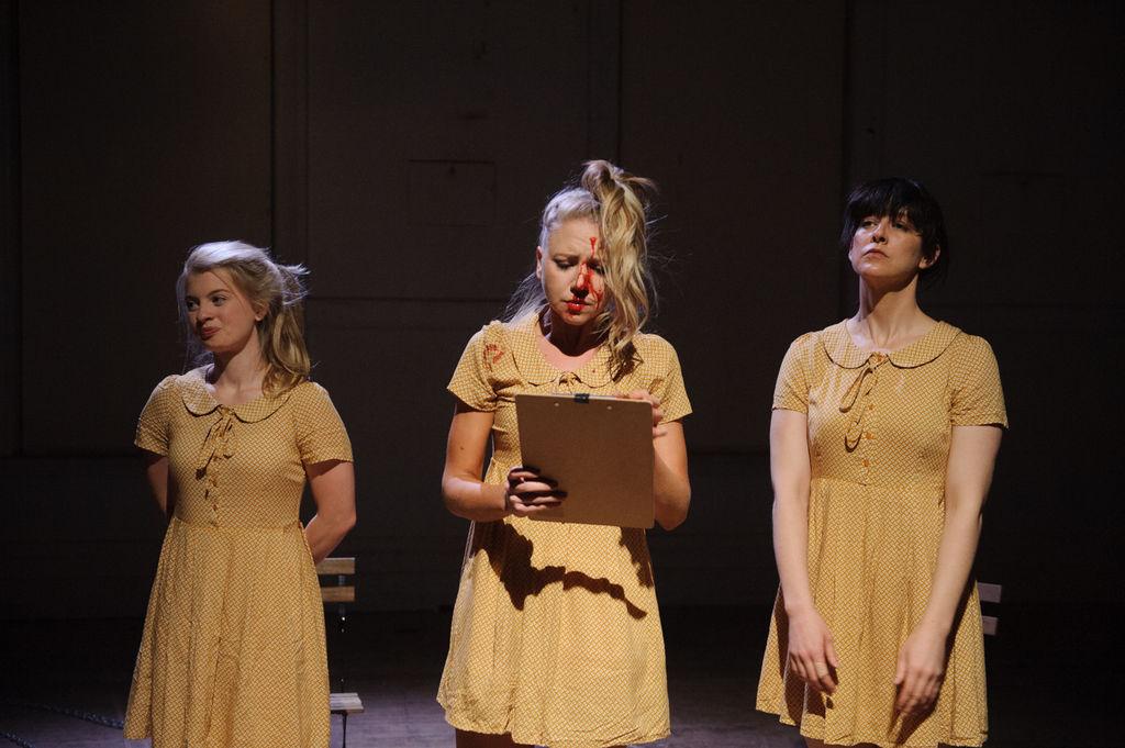 Alice Cavanagh, Jean Goodwin, Emma Hall - Photo credit Sarah Walker