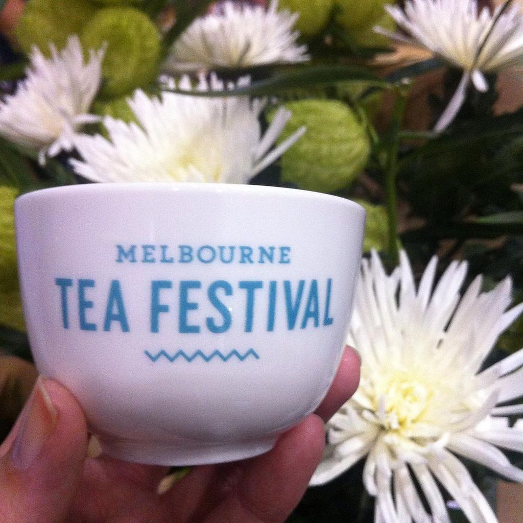 Perfect day for a spot of tea! The first Melbourne Tea Festival is taking over the Melbourne Convention Centre today. Swing by! -Theresa