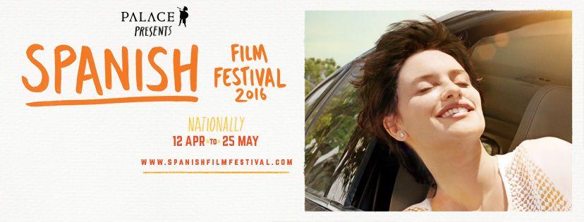 Spanish Film Festival 2016 banner