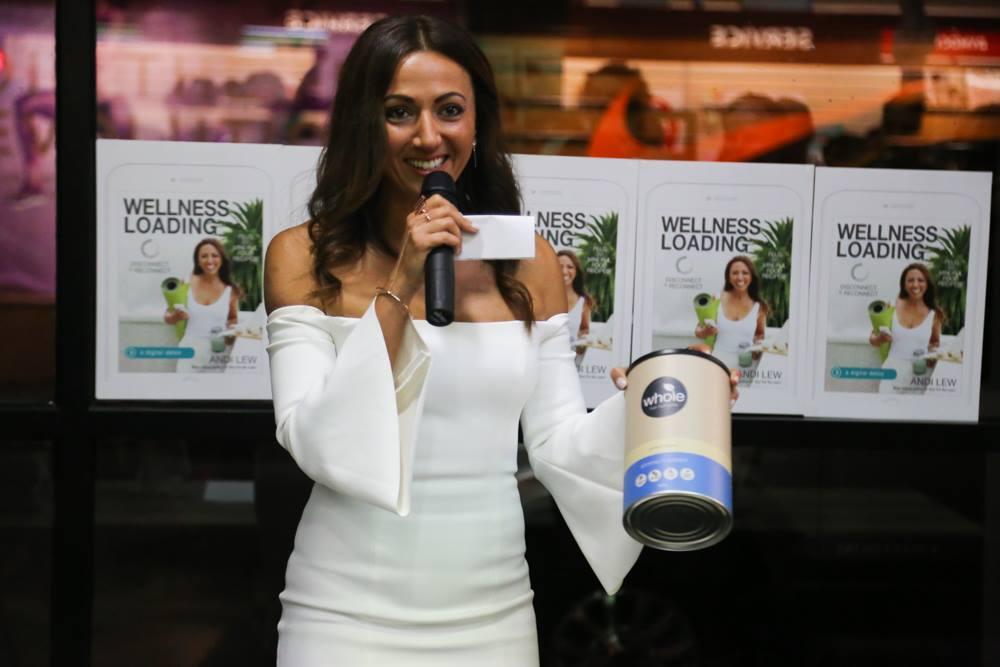 Wellness book launch