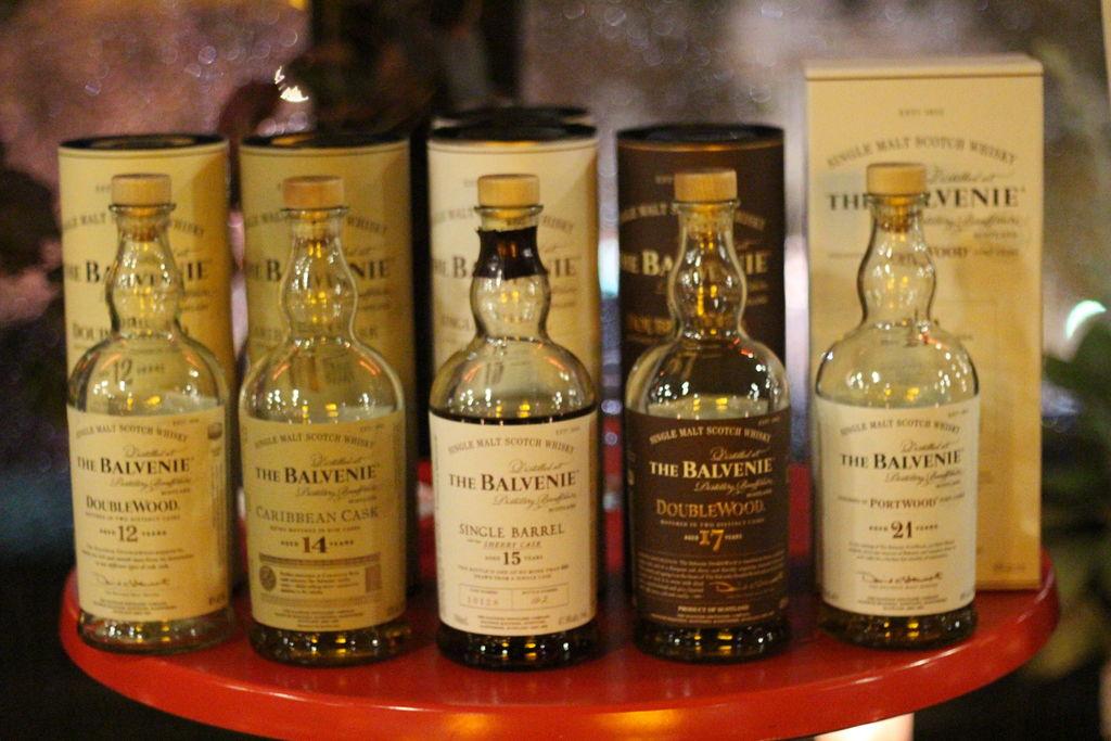 Loop Roof Balvenie whisky tasting