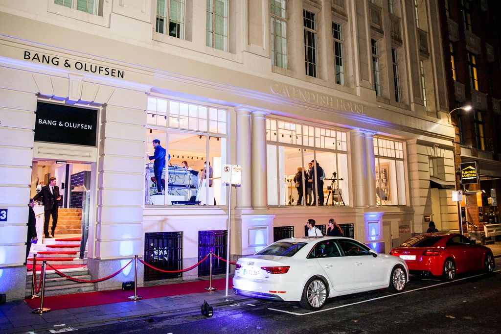 Bang & Olufsen Melbourne store launch