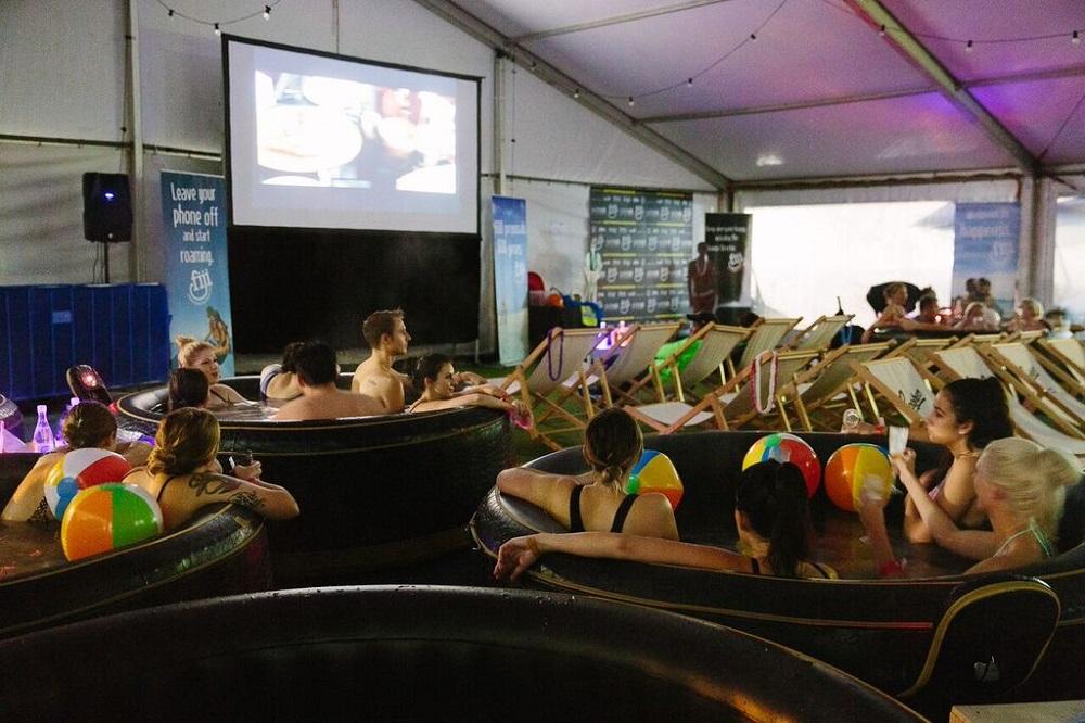 Hot Tub Cinema Melbourne