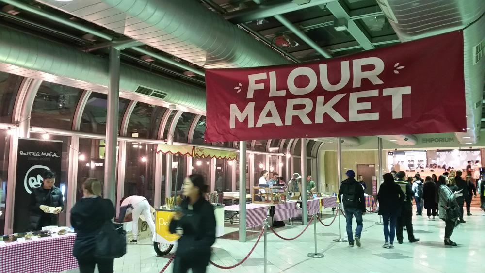 Flour Market popup