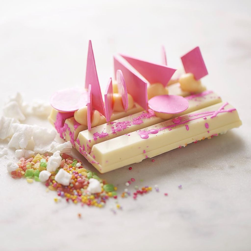 That's a @kitkat, folks. And @melbournecentral is hosting the world's first KITKAT Chocolatory. A permanent shop where folks can personalise their own creation. It opens Friday 21 October. -Team TPO image: @bastioneffect