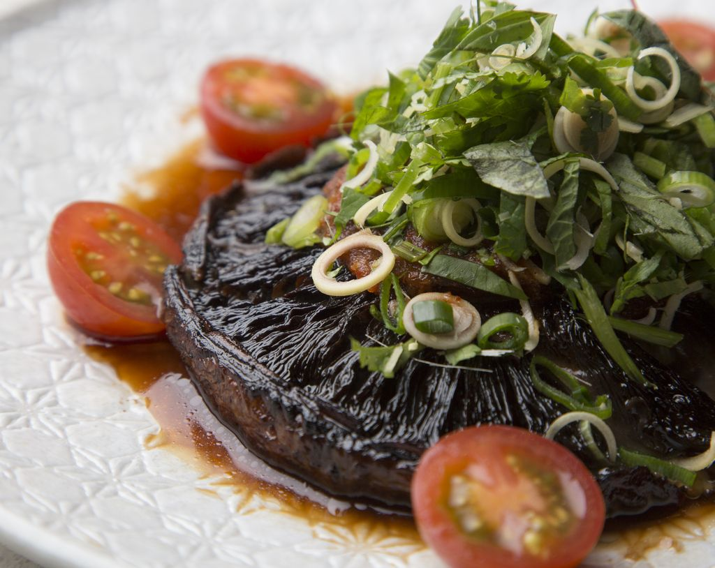 BangPop South Wharf vegan meal