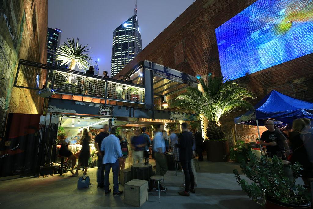 Whitehart bar Melbourne