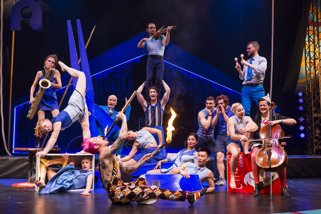 Circus Oz 2017 Model Citizens