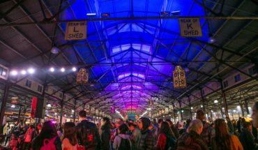 Queen Victoria Winter Night Market Melbourne