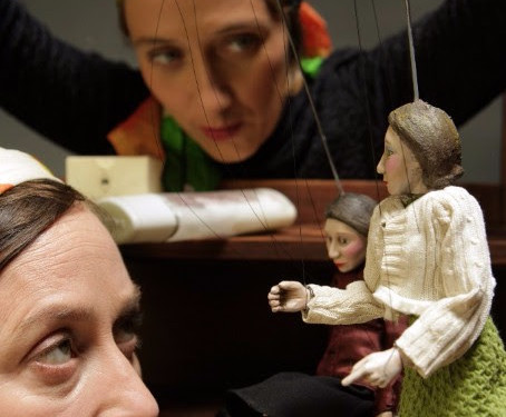 Quarreling Pair- Puppetry