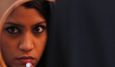 Indian Film Festival lipstick under my burka