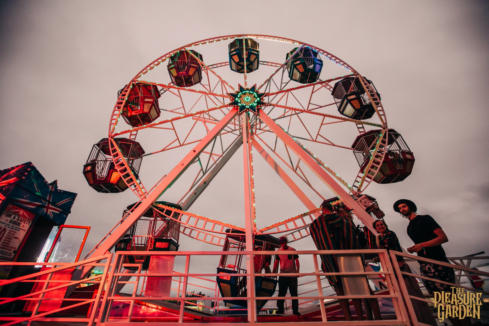 The Pleasure Garden Ferris Wheel
