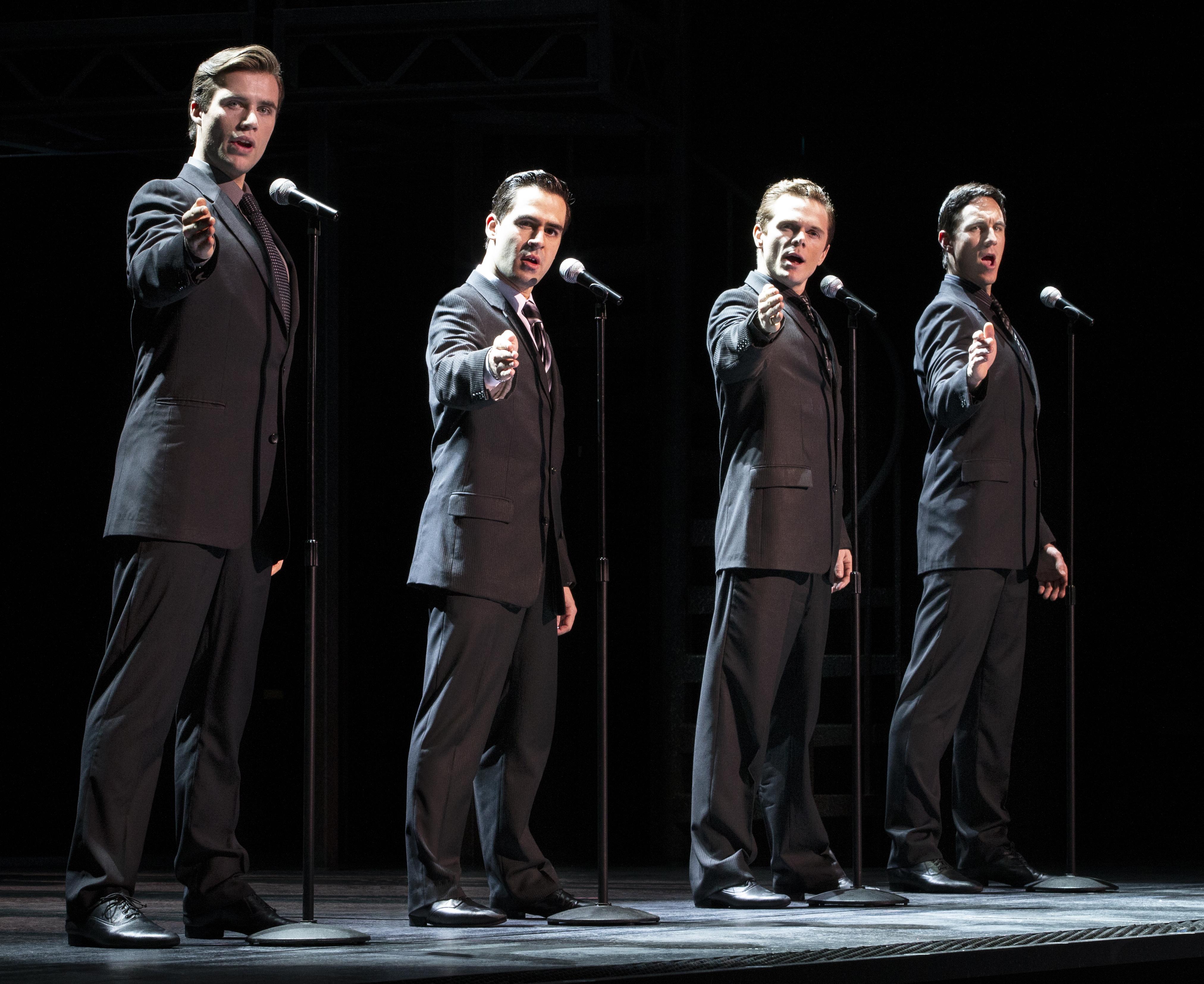 Jersey Bys- Thomas McGuane, Ryan Gonzalez, Cameron MacDonald & Glaston Toft.