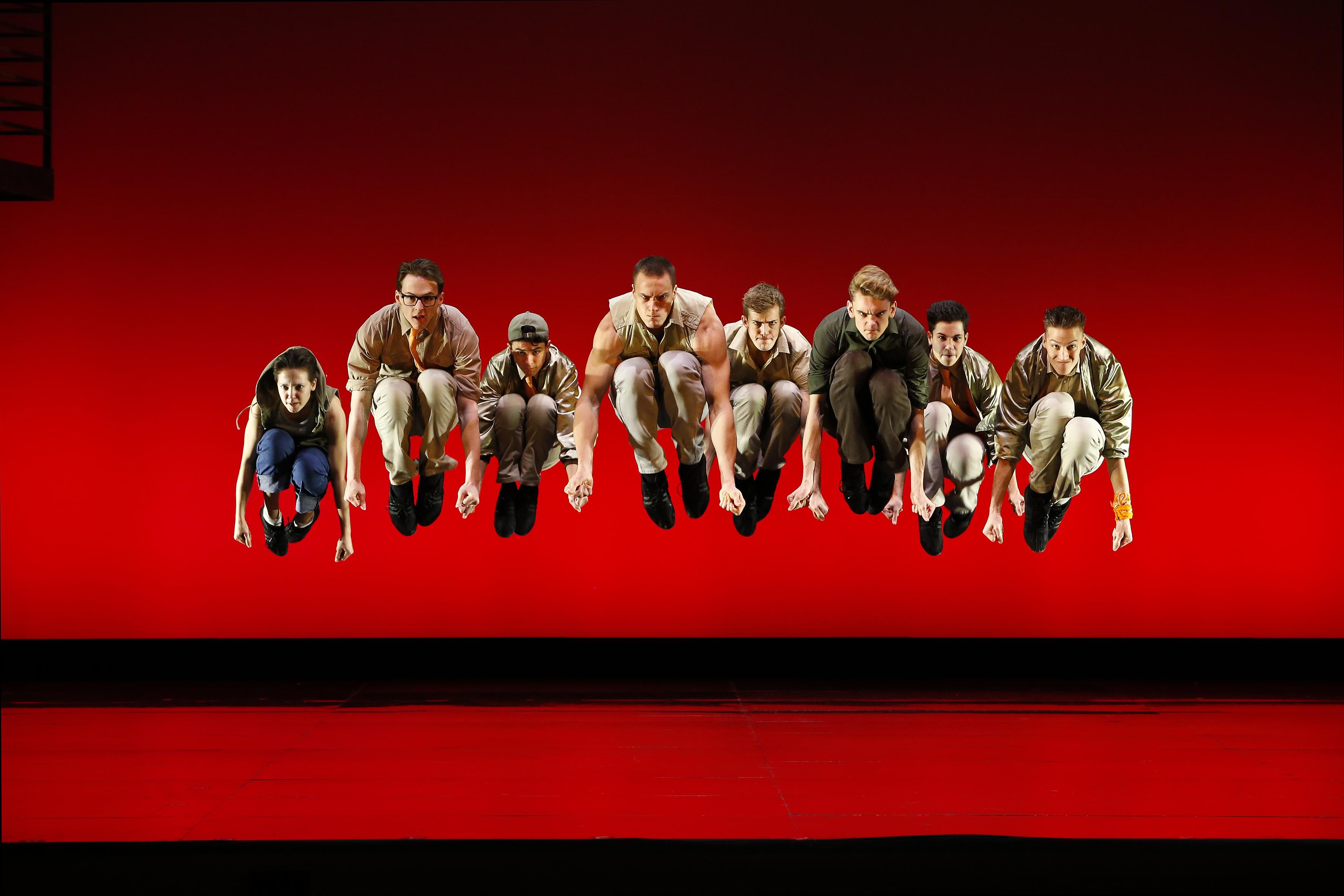 Opera Australia WEST SIDE STORY photo Jeff Busby_3136 Jump