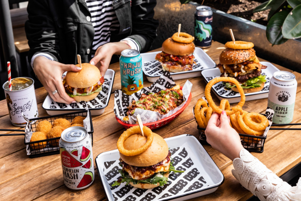 The Plus Ones The Beer And Burger Bar Because No Good Party Ever Started With A Salad Melbourne