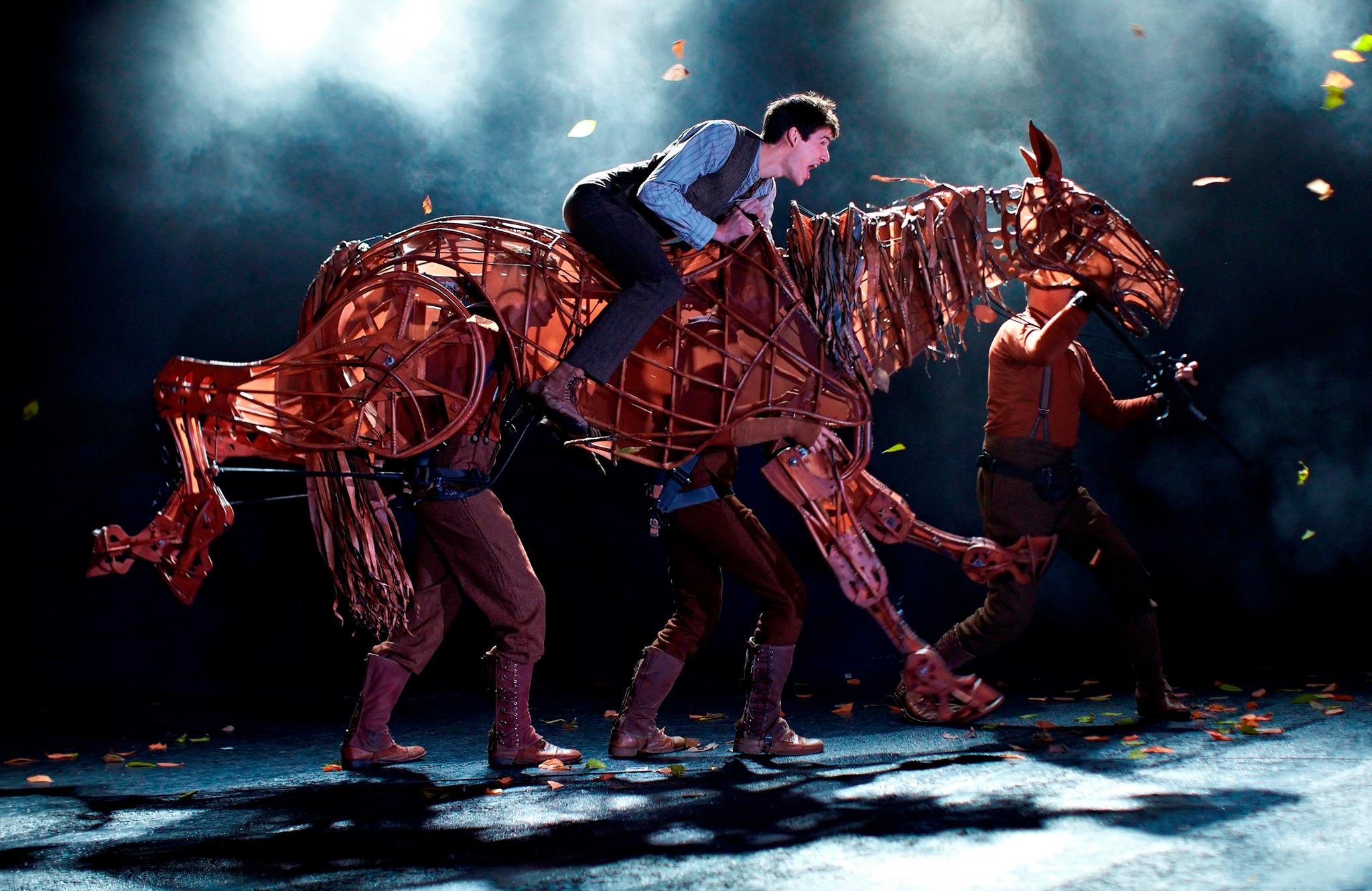 Horse puppetry Handspring SA