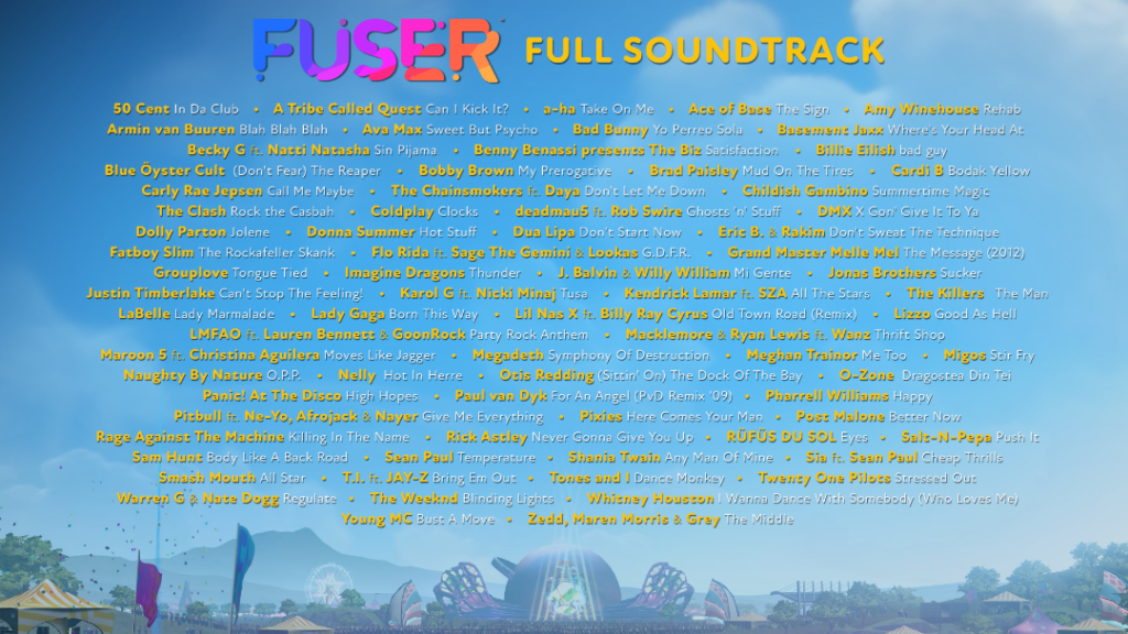 FUSER Soundtrack