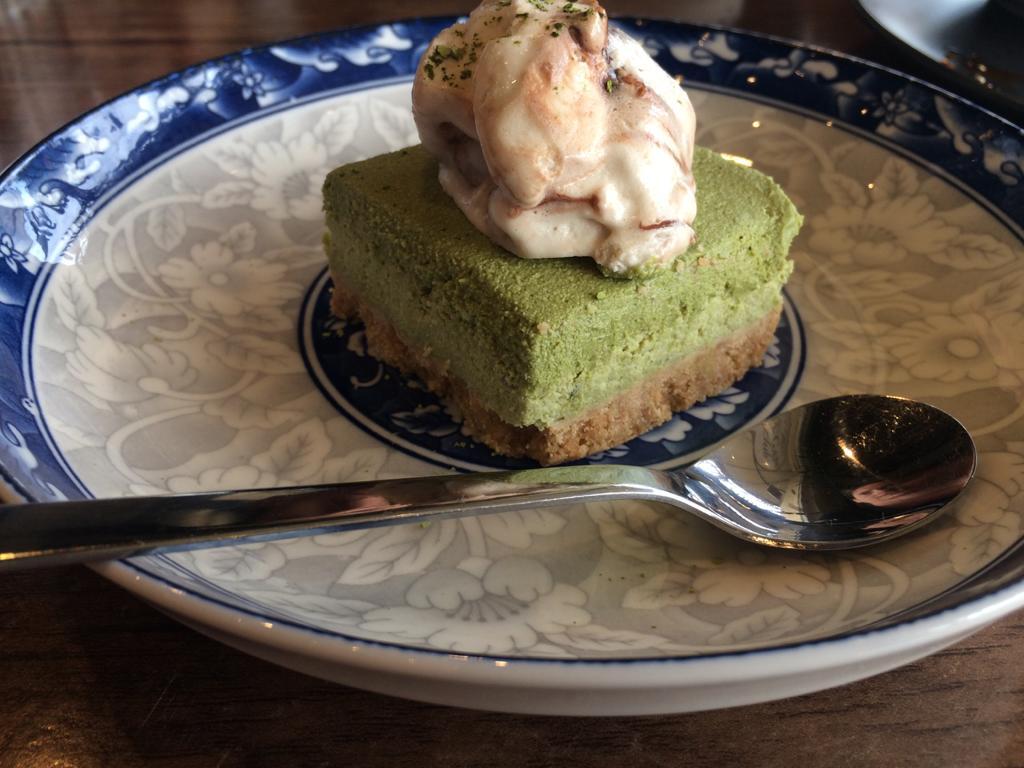 Matcha Cheesecake The Vegan Club