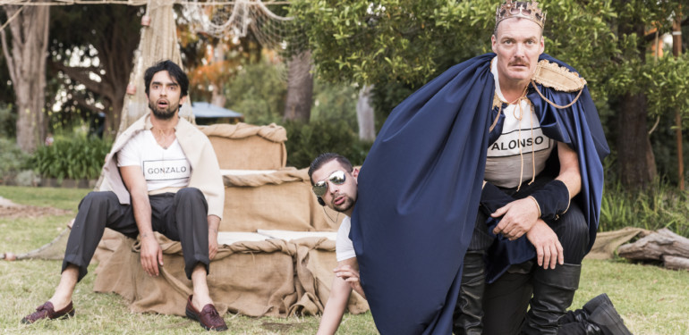 the plus ones melbourne shakespeare company performs the tempest