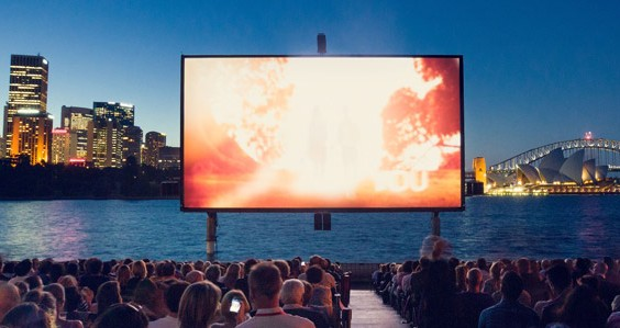 St Georges Open Air Cinema