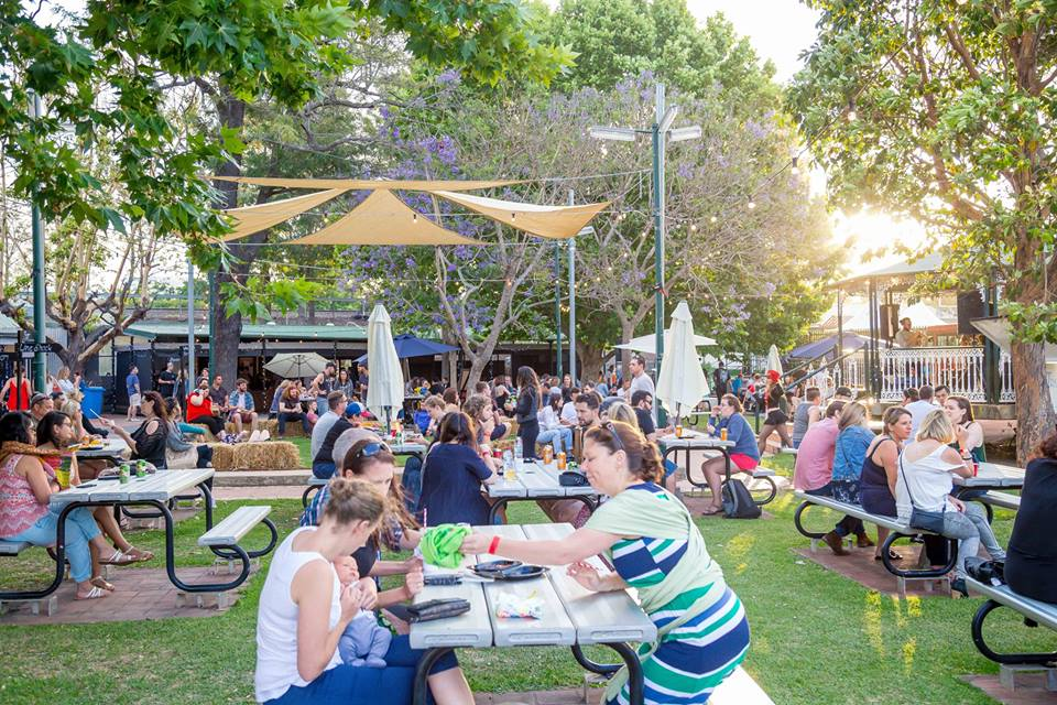 Getting down with the clowns: Sydney Street Food Circus