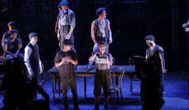 Newsies musical film Sydney