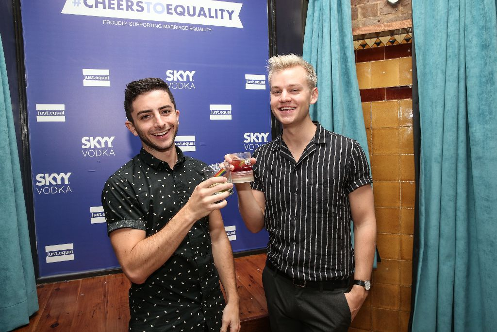 CHEERS TO EQUALITY