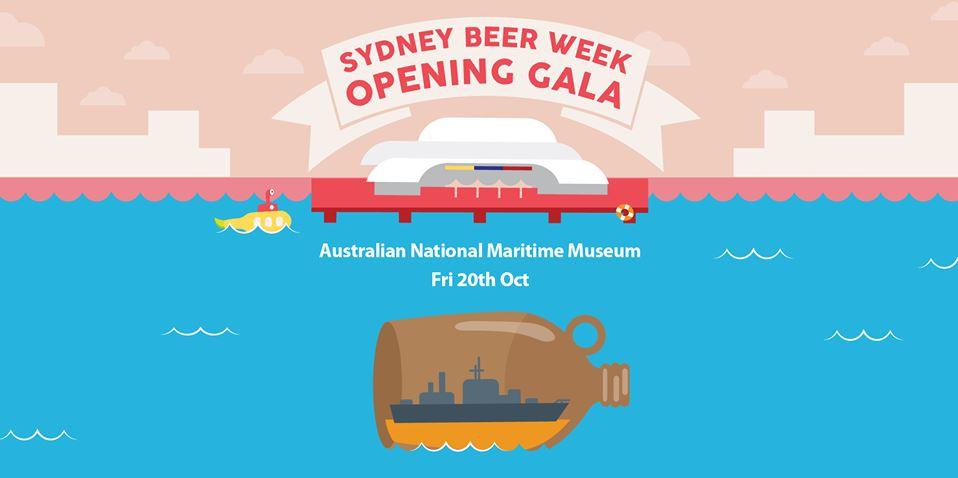 opening gala sydney beer week