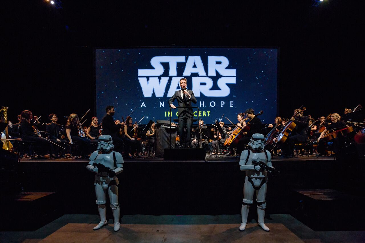 Star Wars - A New Hope in Concert