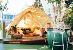 The Winery Surry Hills winter glamping