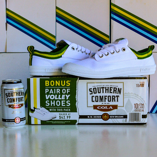Southern Comfort x Volley