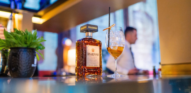 Disaronno Wears DIESEL Launch