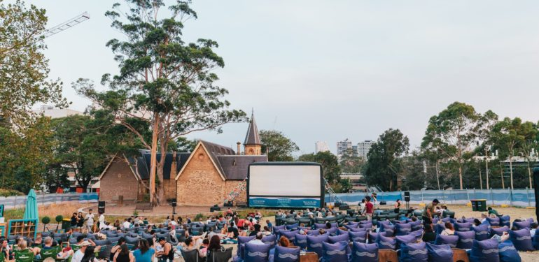 american express openair cinemas sydney