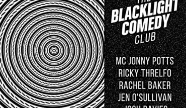 Blaclight Comedy Club Poster