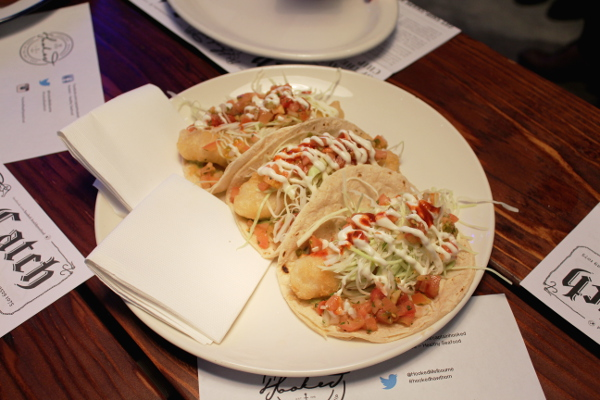 delectable tacos - photo provided by The Modern Con