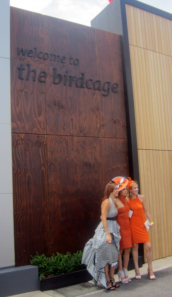 Beautiful ladies at the Birdcage