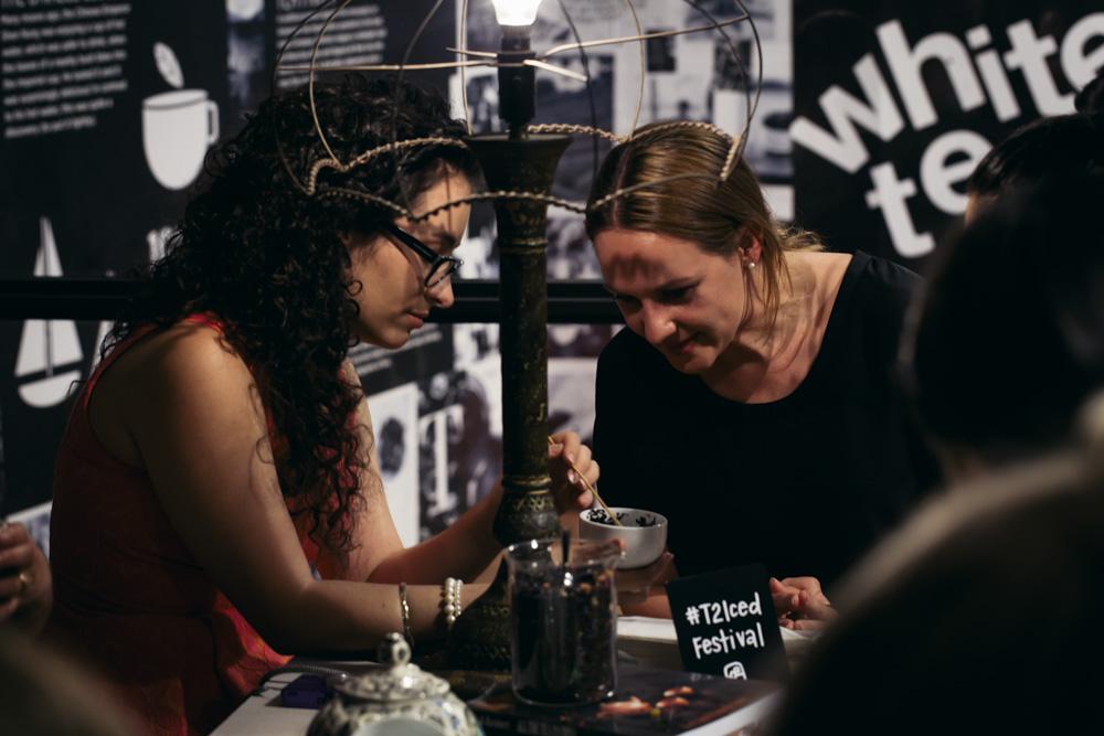 tea fortune telling - photo courtesy Black Communications