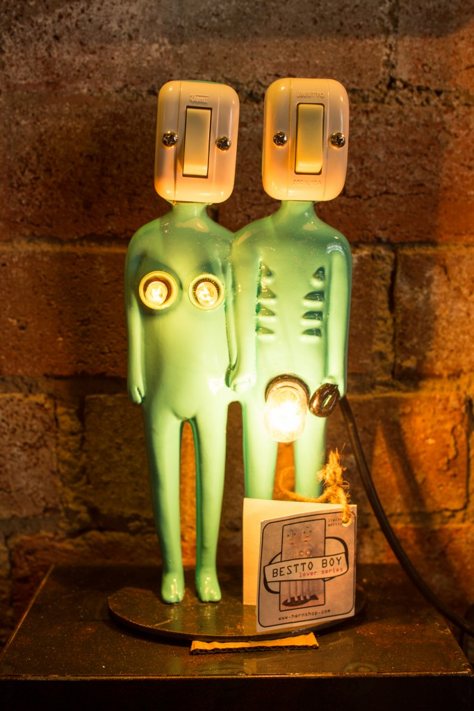 Herns adorable lamps - photo courtesy Zilla   Brook